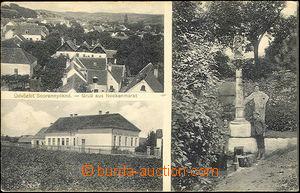 41255 - 1916 Sopronnyékrol - 3-views  B/W postcard, Us, cancel. Hun