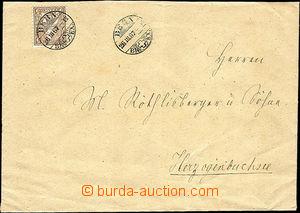 41370 - 1867 letter with Mi.22, CDS Bern 26.III.67, arrival postmark