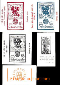 41478 - 1981-92 comp. 5 pcs of stamp booklets,  150 years post in/at
