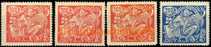 41575 - 1923 Pof.173A/typ I.+II.+III., 174A/typ II., all marked, T I
