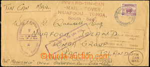 41633 - 1939 AUSTRALIA letters transported by tin can mail from the