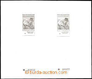 41654 - 2000 PT11a+b Stamp Production, very fine, c.v.. 670CZK
