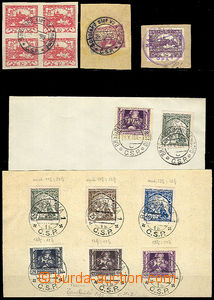 41751 - 1919 selection of special postmark from  year 1919 : Sokol f