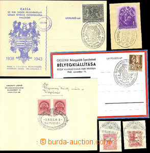 41812 - 1918-43 selection of special postmark near/in/at Hungarian o