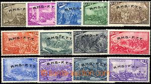 41837 - 1948 Mi.34-46  100. výročí povstání, malé stopy po nálepkách