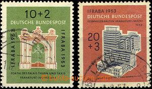 41842 - 1953 Mi.171-72 Exhibition IFRABA, c.v.. 65€