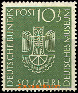 41843 - 1953 Mi.163 German museum, small dot in paper, otherwise min