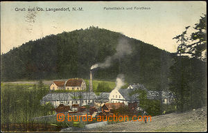 41892 - 1910 HORNÍ DLOUHÁ (Ober Langendorf N.-M.) - coloured view
