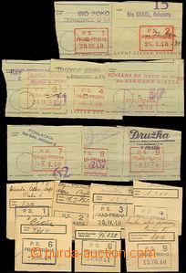41926 - 1939-41 Poštovní spořitelna  sestava 32ks ústřižků vp