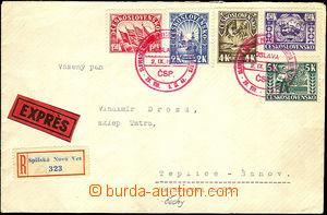 42019 - 1945 červené PR Slovenské národné povstanie Spišská N