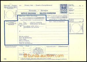42090 - 1941 international dispatch note, revenue 50h, Un, good qual
