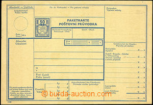 42101 - 1939 COF28/1 (ČaM CPP1) poštovní průvodka s kolkem 50h,