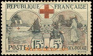 42118 - 1918 Mi.136, smytá nálepka, kat. 150€