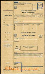 42168 - 1945 dobírková poštovní průvodka s poukázkou, definiti