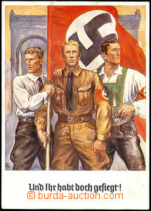 42263 - 1938 Offizielle commemorative postcard zum 9. November 1938