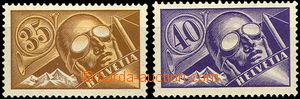 42269 - 1923 Mi.181-82 letecké, hodnoty 35c a 40c, kat. 40€