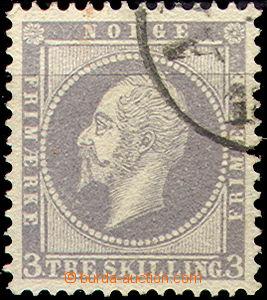 42274 - 1857 Mi.3 Král Oskar I., kat. 80€