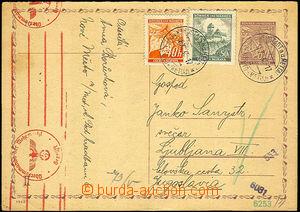 42280 - 1940 CDV8/ volume II to Yugoslavia, with Pof.29, 26, CDS Nov