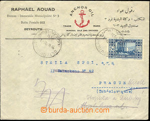 42414 - 1931 commercial letter addressed to to Czechoslovakia, with