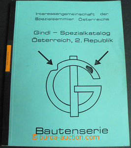 42425 - 1972 Gindl Special catalogue 'Osterreich, 2. Republic Bauten