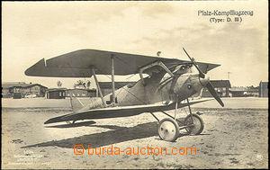 42529 - 1909 Pfalz-Kampfflugzeug (Type: D. III), Un, very good condi