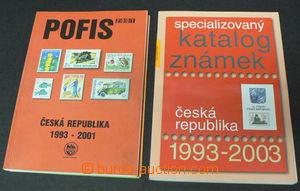 42538 - 2001 POFIS specialized catalogue Czech republic 1993-2004, P