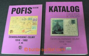 42540 - 2001 POFIS specializovaný katalog Československé celiny 1