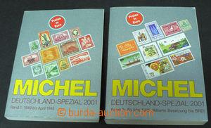 42549 - 2001 Michel, 2 volumes, Deutschland-Spezial, volume 1, 2 (pr