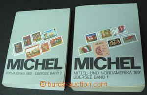 42554 - 1991-92 Michel, 2 volumes, Mittel and North America (Übersee