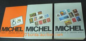 42556 - 1994 Michel, 3 volumes, Asien (A-J, K-Z), Asien II (Übersee-