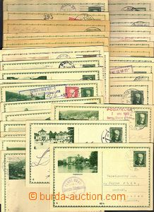 42564 - 1930-38 CZECHOSLOVAKIA 1918-39  selection of more than 50 pc