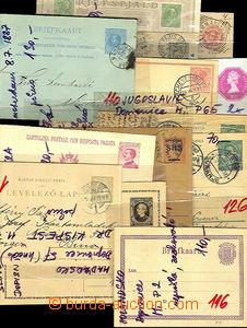 42588 - 1890-1950 EUROPE  sestava cca 70ks dopisnic a zálepek, obsa