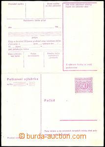 42596 - 1967 stationery CPV32d, folded, c.v.. 290CZK