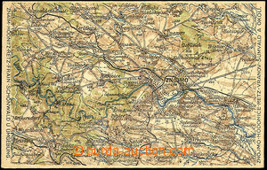 42617 - 1933 Znojmo and surroundings - military map, Un, good condit