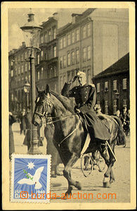 42618 - 1940 dánský King Kristian X. on/for projížďce Kodaní m