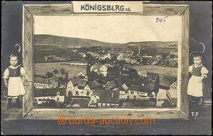 42634 - 1910 Königsberg a.E. (Kynšperk n./O.),  B/W collage, Un, n