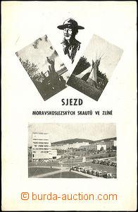 42653 - 1936 Congress Moravian-Silesian of scouts in Zlín,  B/W, on