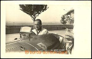 42658 - 1930? MOTORSPORT, Grand Prix Brno, racer Brivio Sforza with
