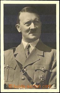 42660 - 1941 Photo Adolf Hitler,  B/W, Un, on reverse with Mi.772, s