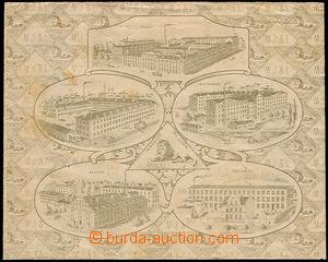 42697 - 1920 reklamní obálka firmy M.Joss & Löwenstein Praha s vy