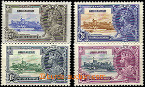 42742 - 1935 Mi.100-103, George V., mint never hinged, cat. 60€
