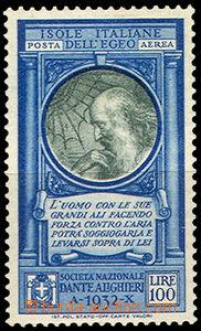 42757 - 1932 Mi.114, Dante Alighieri, cat. 30€