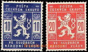 42779 - 1918 Pof.SK1-2 Scout, hinged, exp. Karásek, c.v.. 250CZK