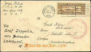 42904 - 1930 USA  Südamerikafahrt (Flight to South America), letter
