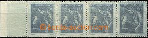 42918 - 1954 Pof.780VV, vodorovná 4-páska s okrajem archu, svěž�
