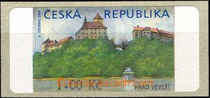 42943 - 2000 Pof.AT1 Veveří (castle), 1CZK, without asterisk, dark
