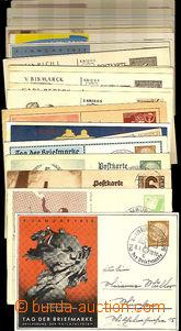 43008 - 1937-42 GERMANY  sestava 31ks obrazových dopisnic a celinov