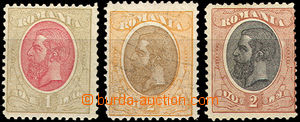43030 - 1900 Mi.141, 143, 144 King Charles I., highest value, good q