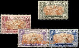 43055 - 1923 Mi.161-64 300 let Kongregace, lehčí razítka, u č.16