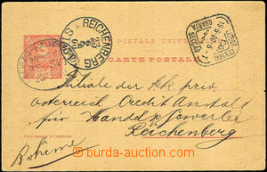 43087 - 1900 PC abroad Mi.P33 to Bohemia, CDS Lisbon Central/ 19.6.0